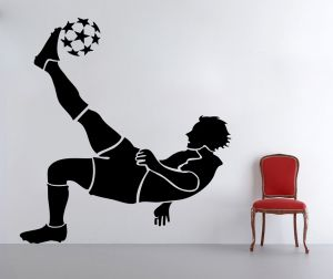 Buy Decor Kafe Decal Style Football Player Wall Sticker online