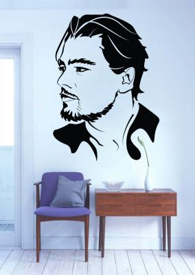 Buy Decor Kafe Decal Style Leonardo Di Caprio Wall Sticker online