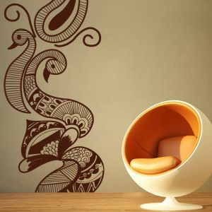 Buy Decor Kafe Creative Peacock Wall Decal Online