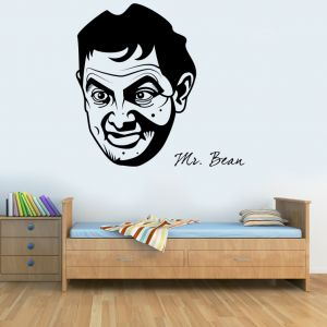 Buy Decor Kafe Decal Style Mr.bean Wall Sticker online