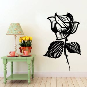Buy Decor Kafe Decal Style Style Rose Flower Sticker online