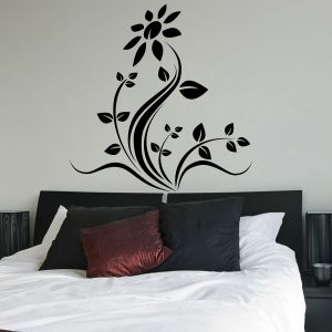 Buy Decor Kafe Decal Style Rose Floral Wall Sticker online