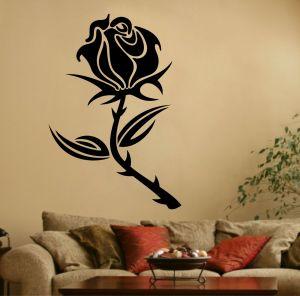 Buy Decor Kafe Decal Style Rose Flower Sticker online