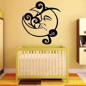 Buy Decor Kafe Decal Style Baby Moon Wall Sticker online