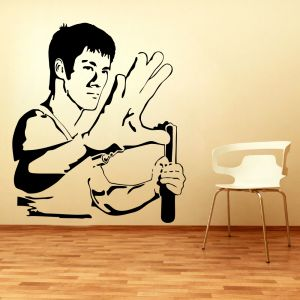 Buy Decor Kafe Decal Style Bruce Lee Small Wall Sticker online
