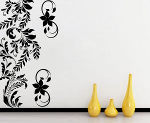 Buy Decor Kafe Decal Style Floral Branch Wall Sticker online