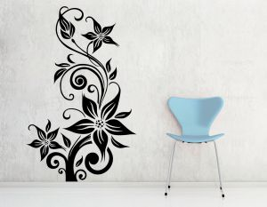 Buy Decor Kafe Decal Style Creative Rose Wall Sticker online