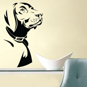 Buy Decor Kafe Decal Style Dog Wall Sticker online