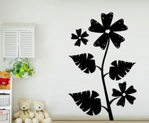 Buy Decor Kafe Decal Style Dotted Sunflower Wall Sticker online