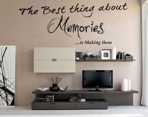 Buy Decor Kafe Decal Style Memories Wall Sticker online