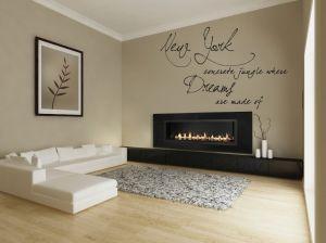 Buy Decor Kafe Decal Style New York Wall Sticker online