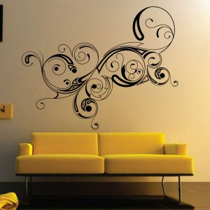 Buy Decor Kafe Decal Style Abstract Design Wall Sticker online