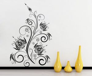 Buy Decor Kafe Decal Style Abstract Wall Sticker online