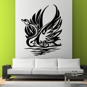 Buy Decor Kafe Decal Style Attractive Swann Wall Sticker online