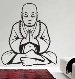 Buy Decor Kafe Decal Style Buddha Wall Sticker online