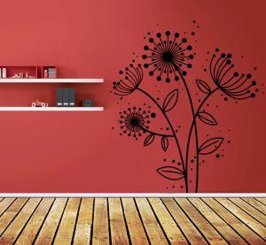 Buy Decor Kafe Decal Style Dandelion Tree Wall Sticker online