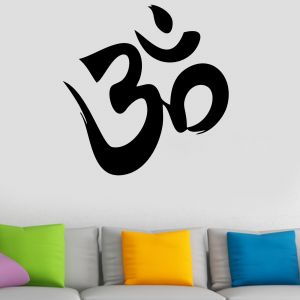 Buy Decor Kafe Decal Style Om Wall Sticker online
