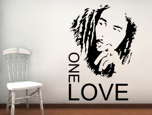 Buy Decor Kafe Decal Style The Legend Marley Wall Sticker online