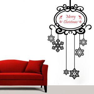 Buy Decor Kafe Decal Style Christmas Stars Wall Sticker online