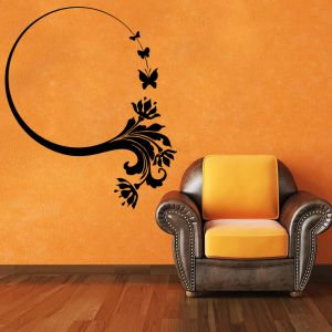 Buy Decor Kafe Decal Style Butterfly Bunch Small Wall Sticker online