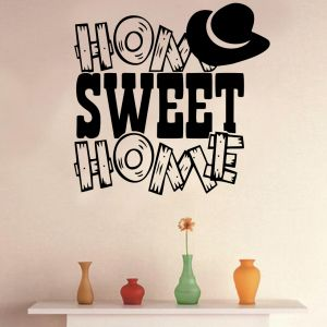 Buy Decor Kafe Decal Style Home Sweet Home Large Wall Sticker online