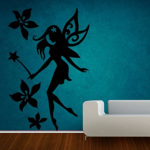 Buy Decor Kafe Decal Style Fairy Large Wall Sticker online