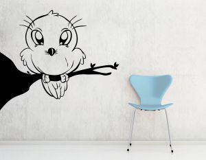 Buy Decor Kafe Decal Style Owl Small Wall Sticker online