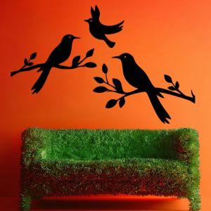 Buy Decor Kafe Decal Style Birds Medium Wall Sticker online