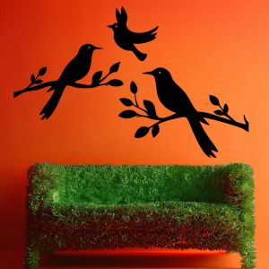 Buy Decor Kafe Decal Style Birds Small Wall Sticker online