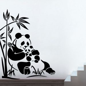Buy Decor Kafe Decal Style Panda Medium Wall Sticker online