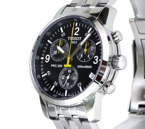Buy Imported Tissot T171.586.52 Prc200 Chronograph Men Wrist Watch online