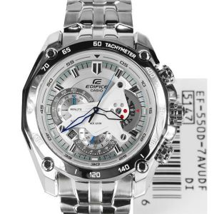 Imported Casio 550d 7avdf White Dial Chronograph Watch For Men