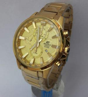 69a5b403021 Buy Imported Casio Edifice Efr 303 Full Gold Watch For Men Online ...