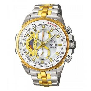 Buy Casio Edifice Tachymeter Chronograph Black Dial Men'S Watch online