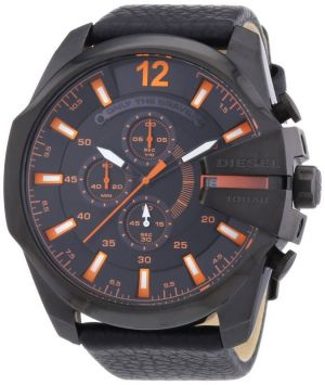 Buy Diesel Dz4291's Watch Quartz Chronograph Stopwatch-black Leather Strap online
