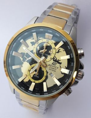 Buy Imported Casio Edifice Efr 303 1av Black Dial Sg Watch For Men New Arrival online