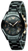 Buy Imported Emporio Armani Ar1411 Ceramic Black Women Chronograph Wrist Watch online