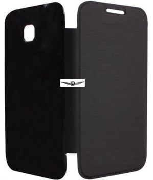 best value 57345 be5c0 Hi Grade Black Flip Cover For Htc Desire 326g