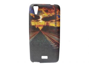 Buy Kelpuj Multicolor Mobile Back Cover For Micromax Canvas Selfie Lens Q345 online
