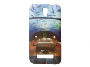 Buy Kelpuj Multicolor Mobile Back Cover For Micromax Canvas Play Q355 online