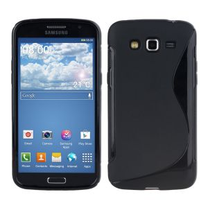 Buy Kelpuj Black Mobile Back Cover For Samsung Galaxy Grand 2 G7105 online