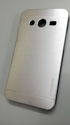 Buy Tup Motomo Metal Back Case Cover For Samsung Galaxy Core 2 G355h Silver online