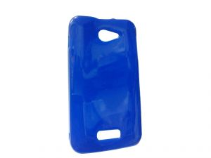 Buy Kelpuj Blue Mobile Back Cover For Micromax Unite A092 online