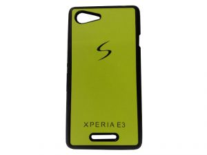 Buy Kelpuj Yellow Mobile Back Cover For Sony Xperia E3 online