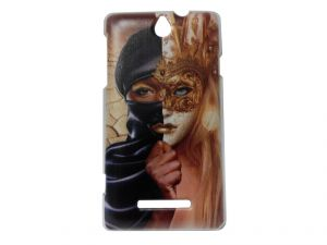 Buy Kelpuj Multicolor Mobile Back Cover For Sony Xperia E online