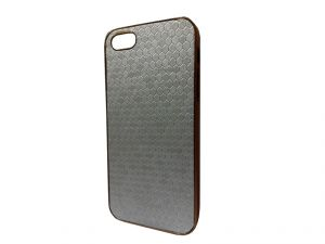 Buy Kelpuj Silver Mobile Back Cover For Apple iPhone 5g online
