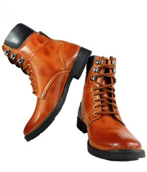 Buy Elvace Cowboy Tan Men Boot online