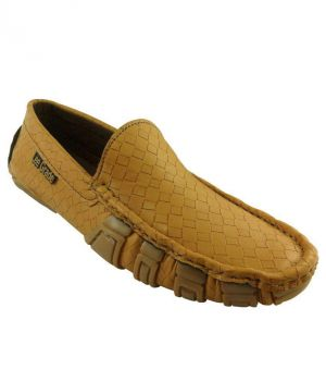 Buy Elvace Yellow Emagen Loafer online