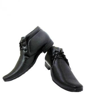 Elvace Black Office Formal Mens Shoes Online