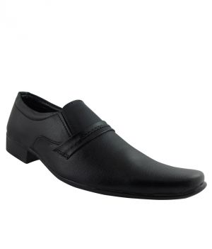 Buy Elvace Black Realblack Formal Men Shoes online